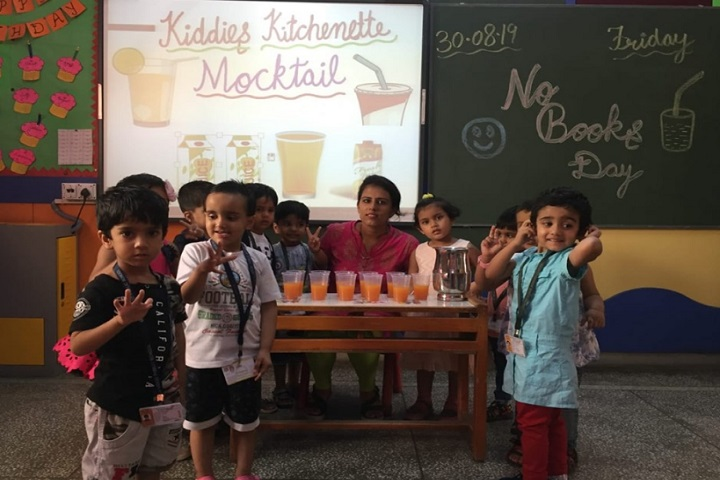 Greenwood Public School-Juice day