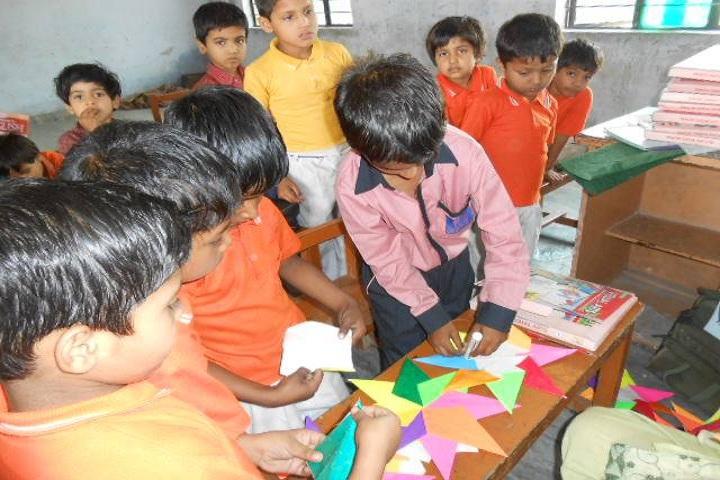Gulab Public School-Art and Craft
