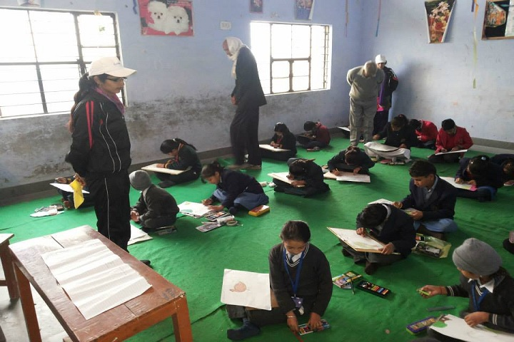 Gulab Public School-Drawing Competition