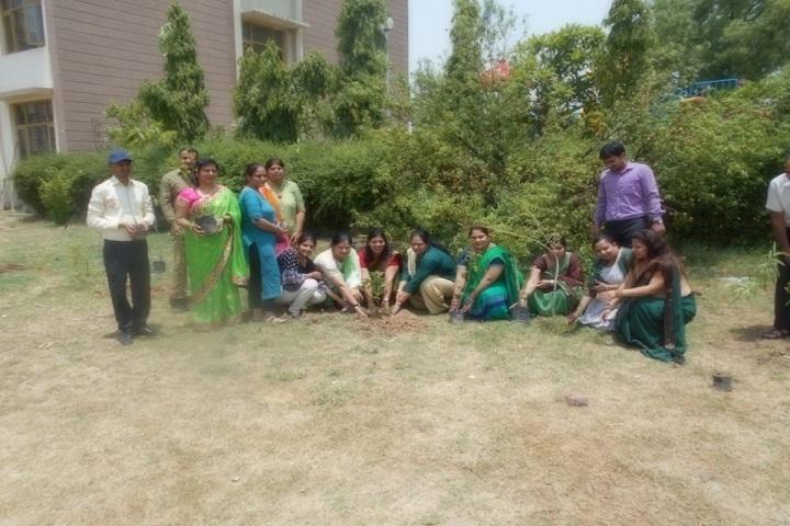 Gurgaon World School-Plantation