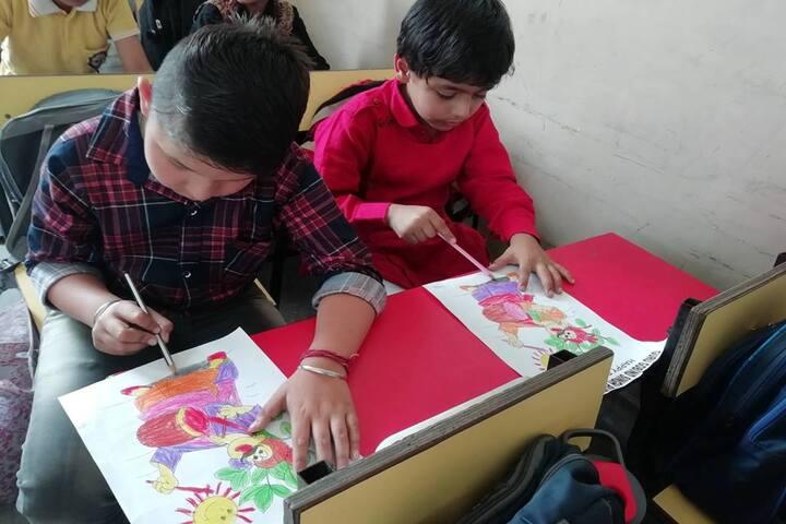Guru Gobind Singh Public School-Drawing