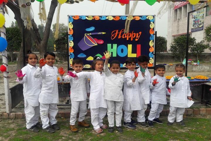 Guru Gobind Singh Public School-Holi Celebration