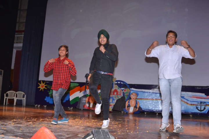 Guru Harkrishan Public School-Dance Competition