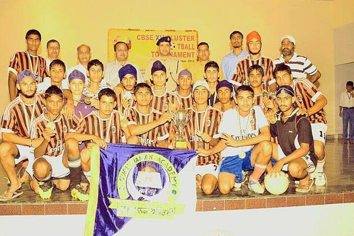 Guru Nanak Academy-Sports Team