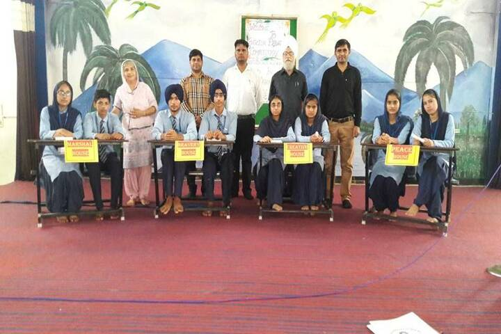 Guru Nanak Dev Academy-Debate Competition