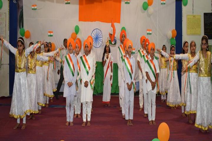 Guru Nanak Dev Academy-Republic day Celebration