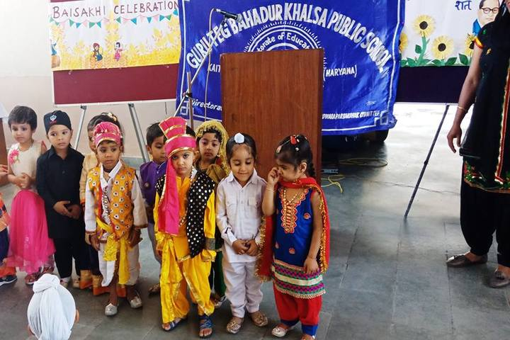 Guru Teg Bahadur Khalsa Public School-Fancy Dress