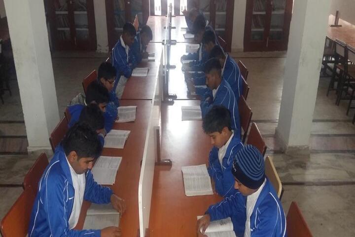 Gurukul High School-Library