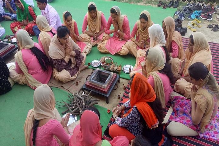 Gyan Bharti Public School-Pooja Ceremony