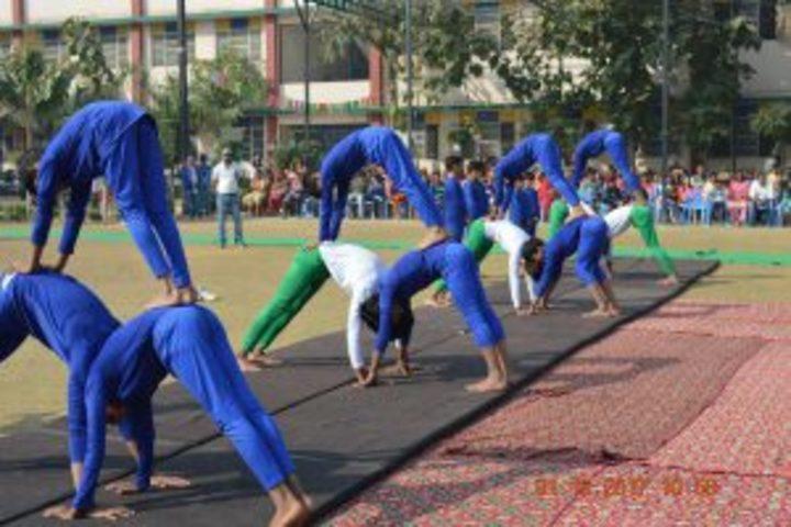 Gyan Deep Senior Secondary School-Yoga day