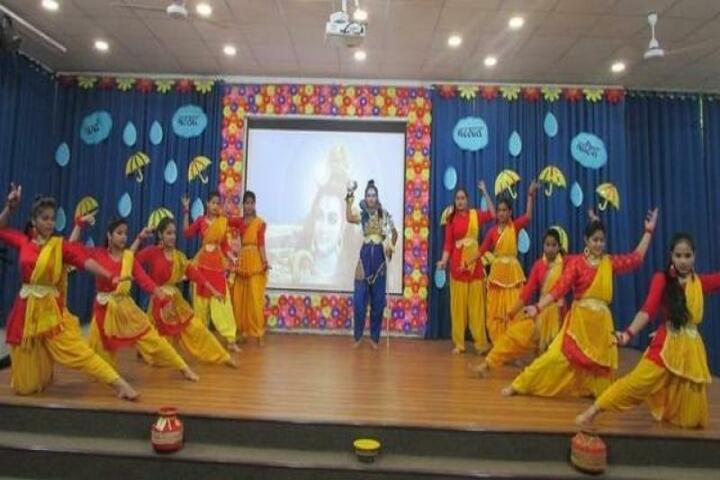 Gyan Devi Public School-Festival Celebration