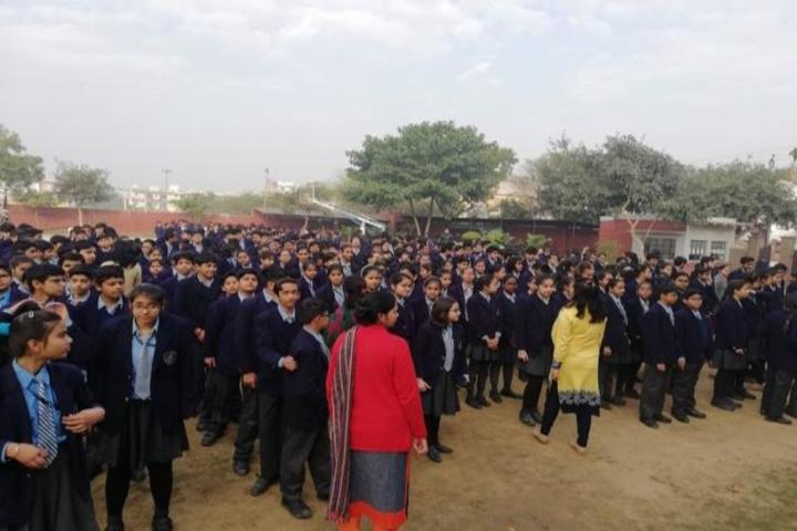 Gyan Devi School-Assembly