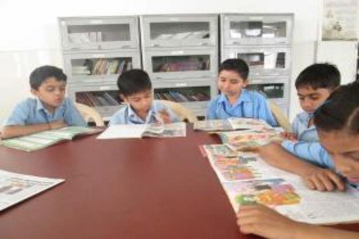 Gyan Devi School-Library