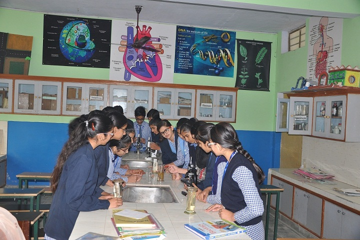 H D Public School-Biology Lab