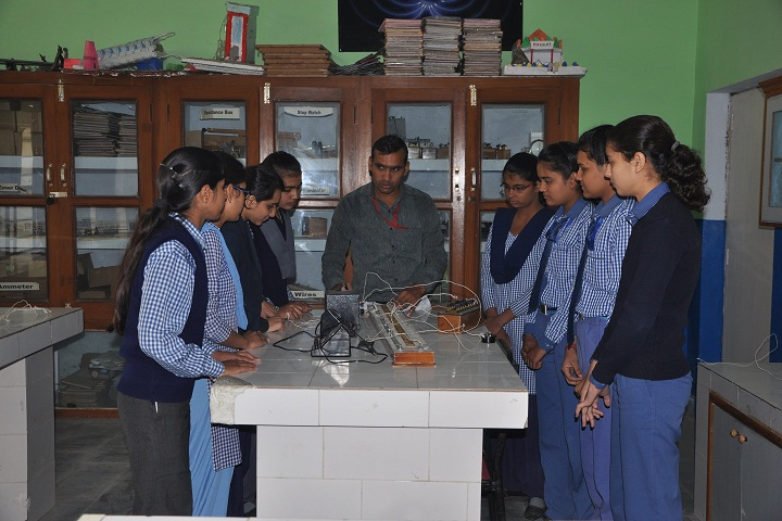H D Public School-Physics Lab