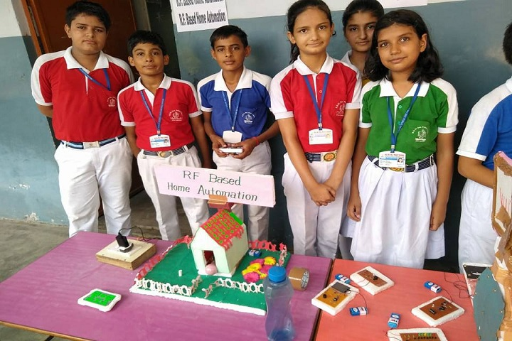 H D Senior Secondary Public School-Science Exhibition