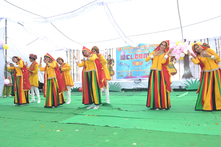 H N Model Senior Secondary School-Annual Day
