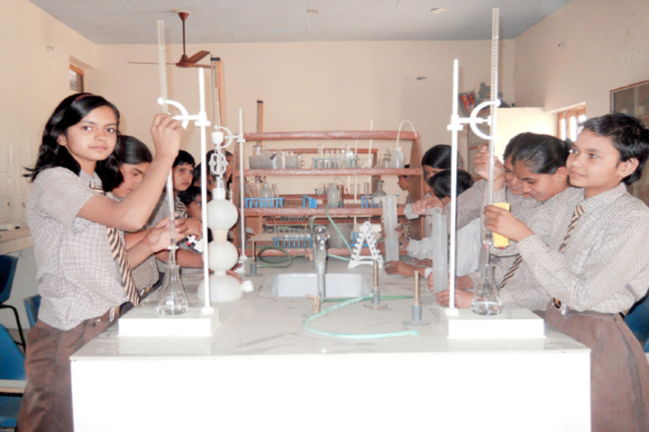 H N Model Senior Secondary School-Chemistry Lab