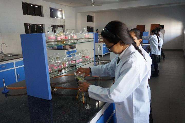 Happy Evergreen Senior Secondary School-Chemistry Lab