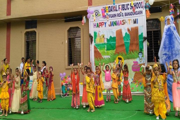 Hardayal Public School-Janamastami Celebrations
