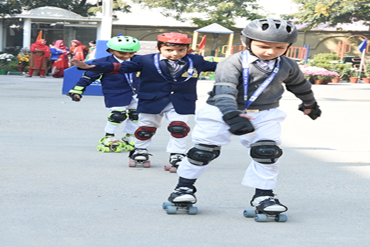 Hardayal Public School-Skating