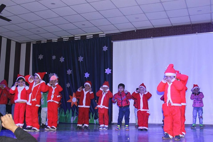 Hare Krishna International Senior Secondary School-Christmas Celebration