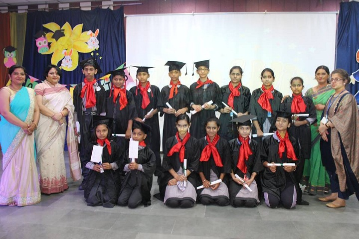 Hare Krishna International Senior Secondary School-Graduation Day