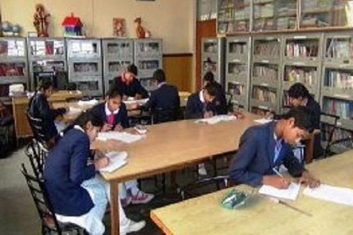 Hare Krishna International Senior Secondary School-Library