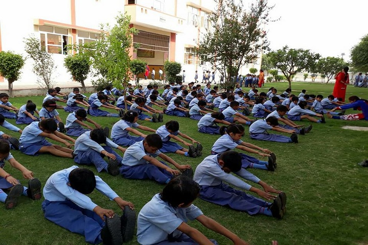 Hare Krishna International Senior Secondary School-Yoga