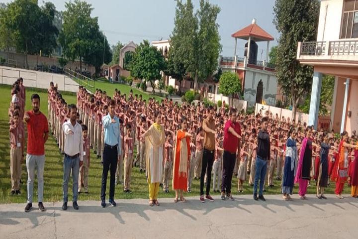 Hari Om Shiv Om Public School-Assembly