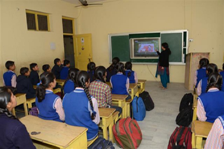 Hari Om Shiv Om Public School-Smart Class