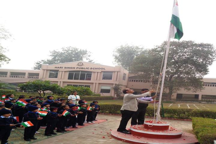 Hari Singh Public School-Republic day