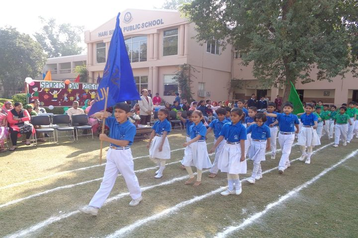 Hari Singh Public School-Sports day