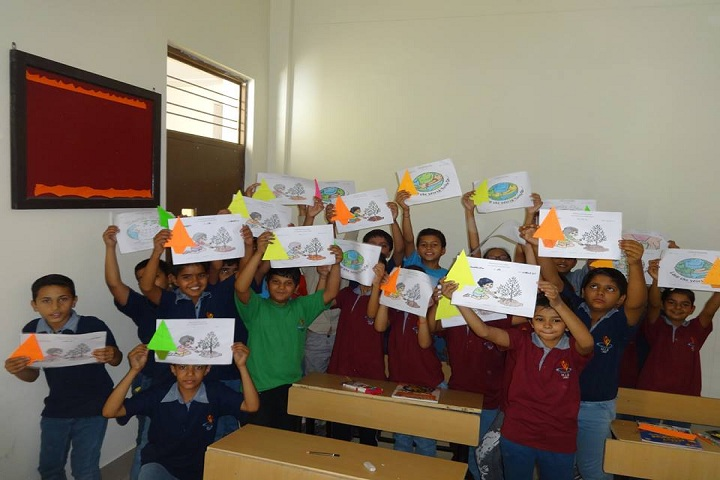 Harsh International School-Earth Day
