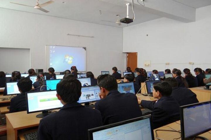Haryana Model Senior Secondary School-Computer Lab