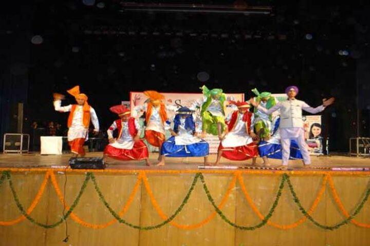 Haryana Model Senior Secondary School-Dance Event