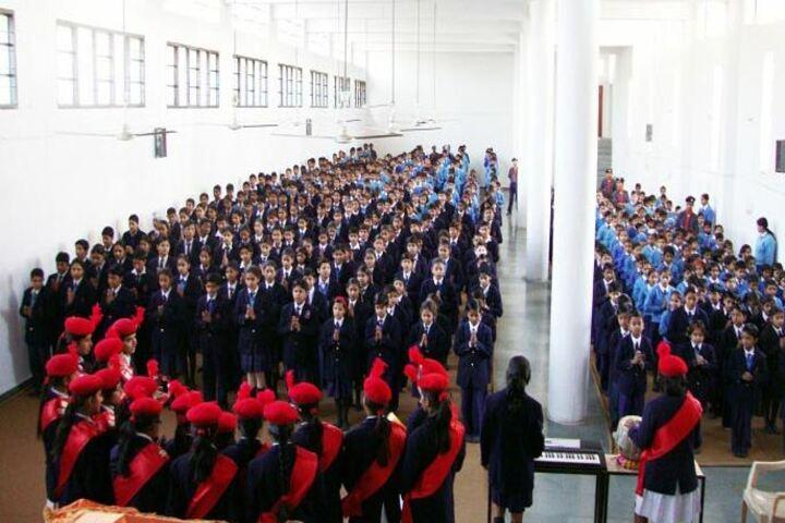 Haryana Model Senior Secondary School-Morning Assembly