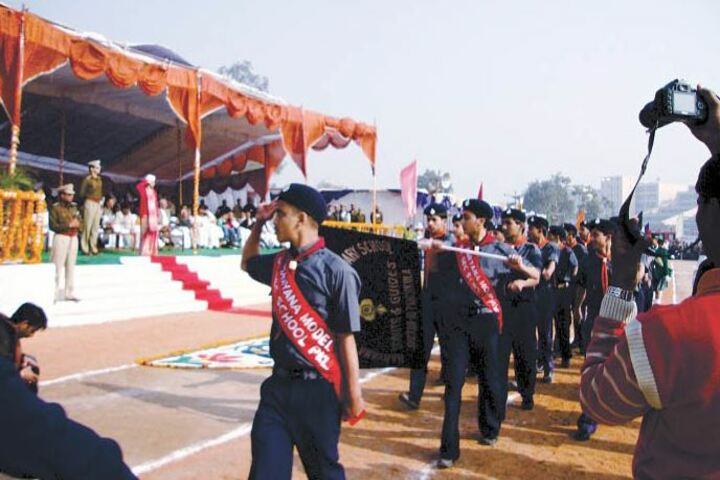 Haryana Model Senior Secondary School-Scouts and Guides