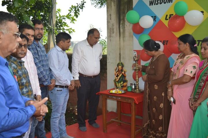 Haryana Public School-Pooja Ceremony
