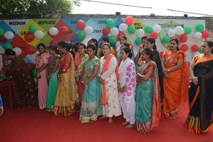 Haryana Public School-Teachers Day