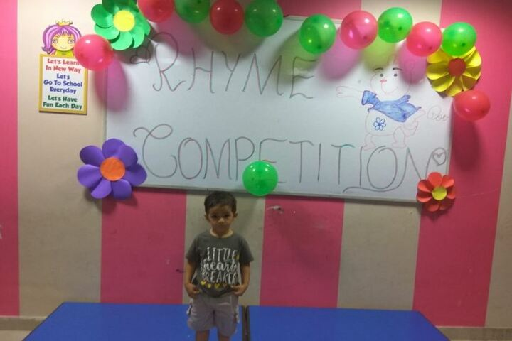 Haryana Public School-Rhyme Competition