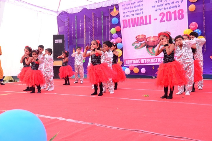Heritage International School-Dewali Celebrations