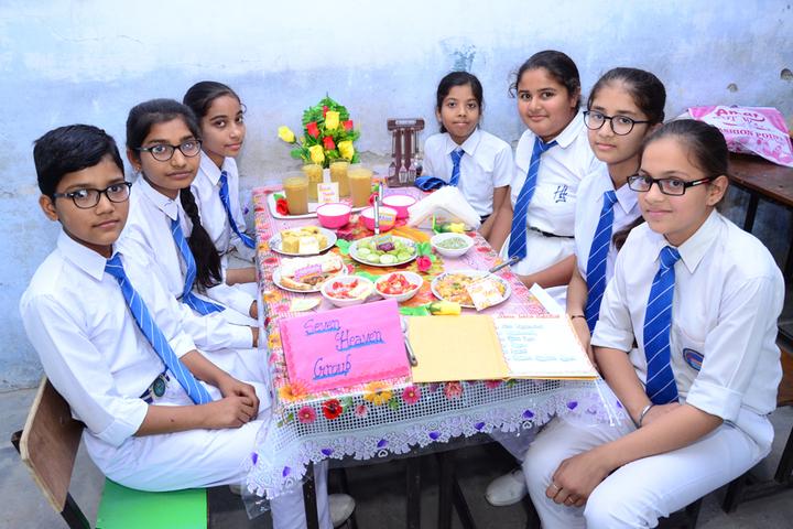 Heritage International School-Food Festival
