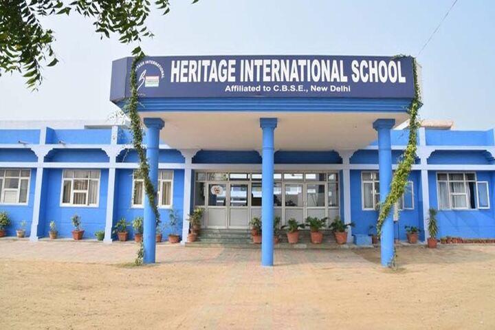 Heritage International School-School Entrance