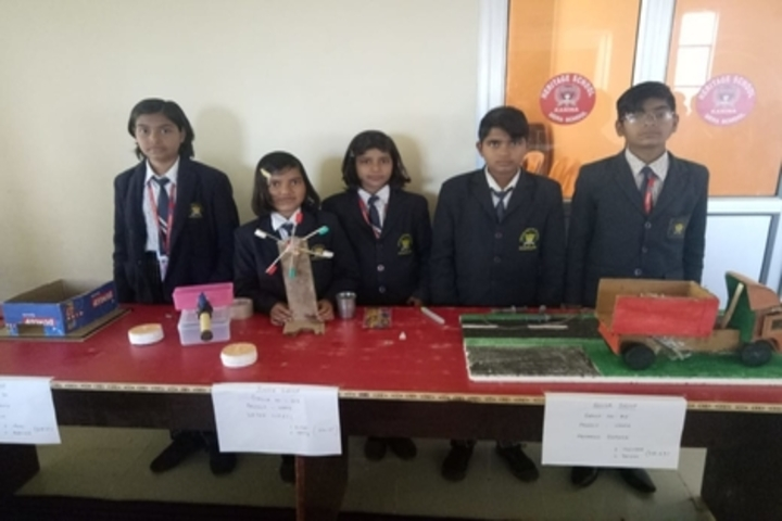 Heritage Public Senior Secondary School-Exhibition