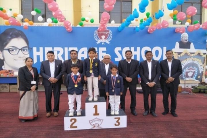 Heritage Public Senior Secondary School-Prize Ceremony