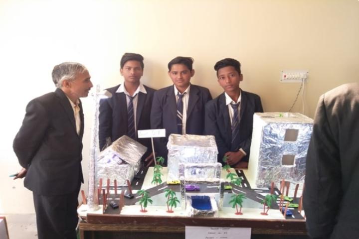 Heritage Public Senior Secondary School-Science Exhibition