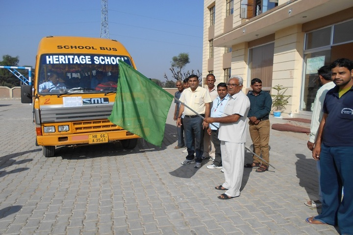 Heritage Public Senior Secondary School-Transport