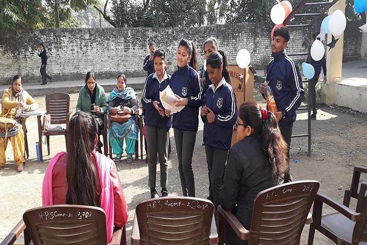 Hindu Public School-Quiz Competition