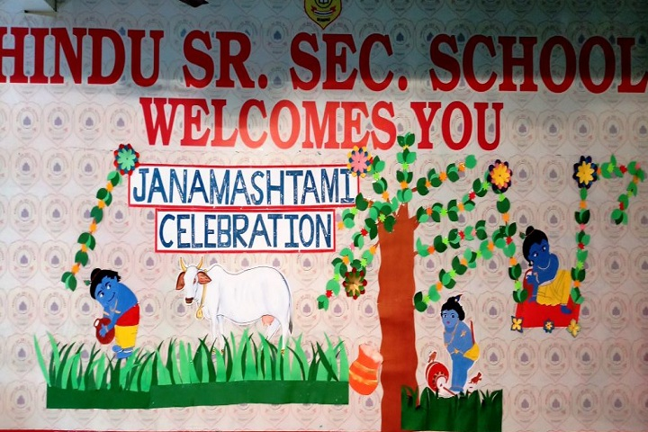 Hindu Senior Secondary School-Janmashtami